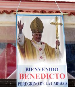Pope Benedict XVI banner