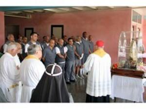 Cardinal and inmates